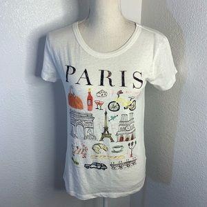 J. Crew Tops - J Crew Paris Collector Tee